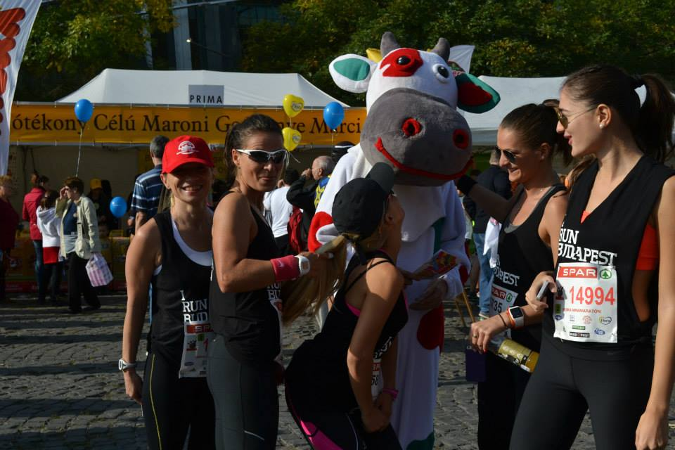 GOLD GYM TEAM at BUDAPEST MARATHON 11.10.2014