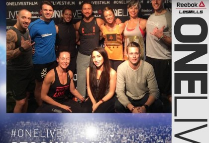 GOLD GYM TEAM AT ONELIVE STOCKHOLM 2015