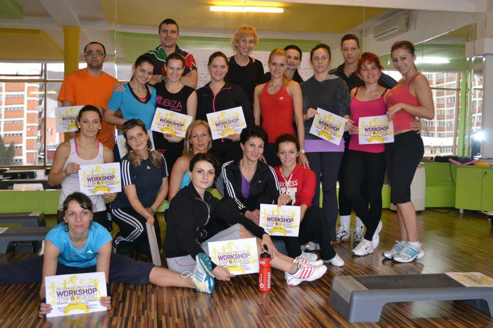 Workshop Step&Aerobic cu Bianca Marcarov 2012