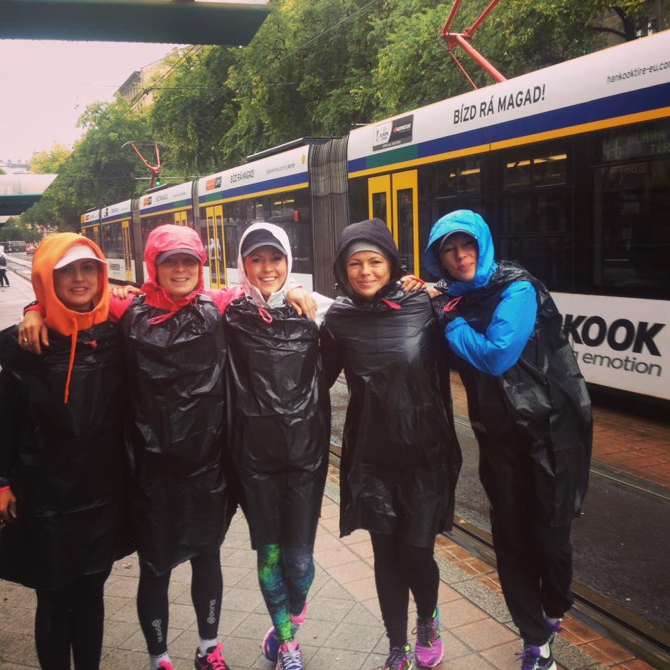 Gold Gym Team la Budapest Marathon 2015