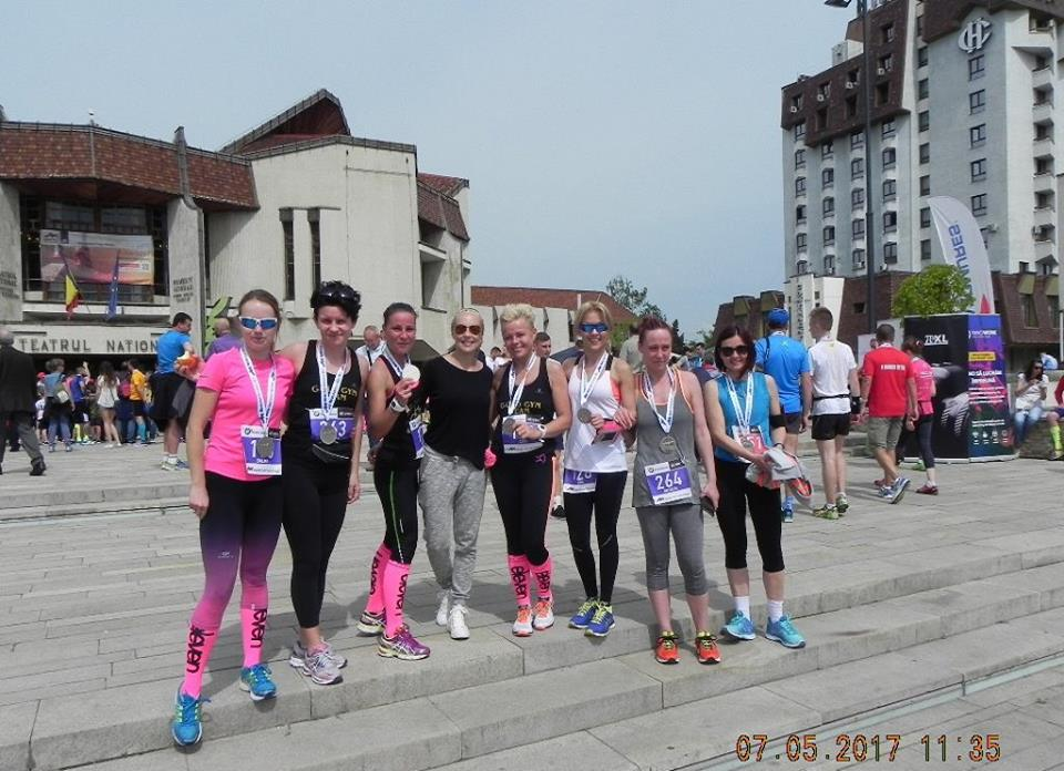 GOLD GYM TEAM la Mures  Halfmarathon 2017
