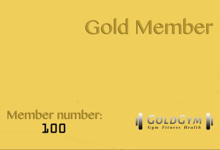 gold member 100