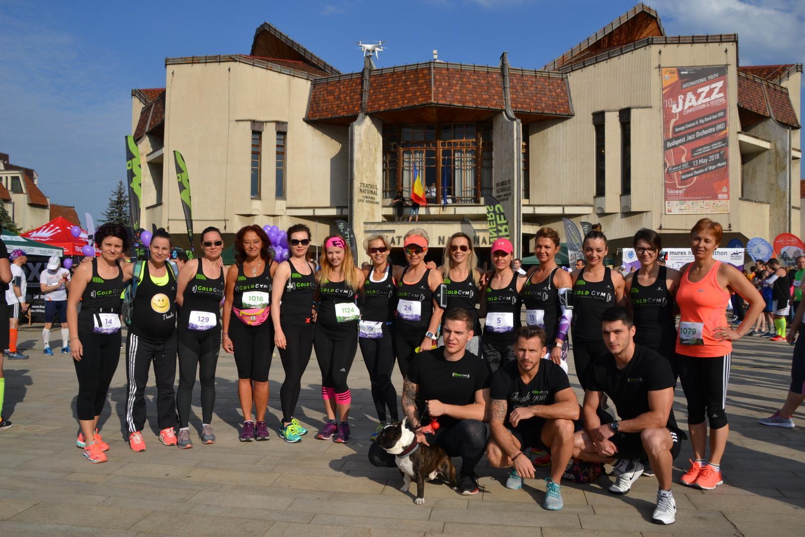 Echipa GOLD GYM la Mures halfmarathon 2018